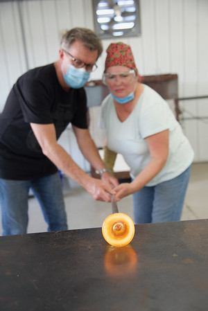 Glass Blowing Matriculation with Dave and Bryan Lee