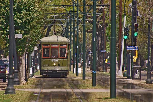 St Charles Streetcars