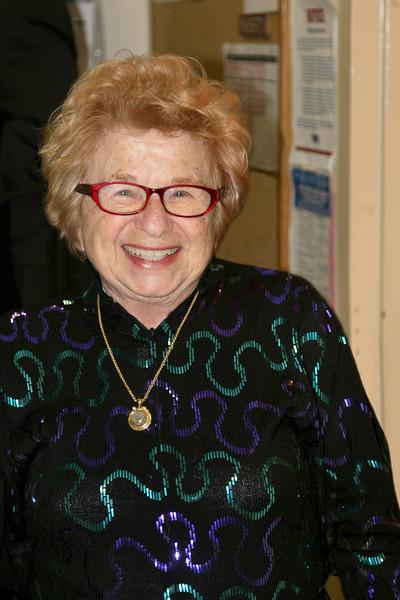 August 2016 Dr Ruth Westheimer