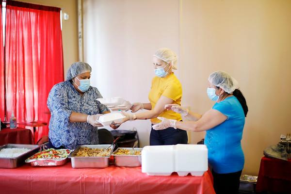 Manos Unidas Meal Delivery Program-062420