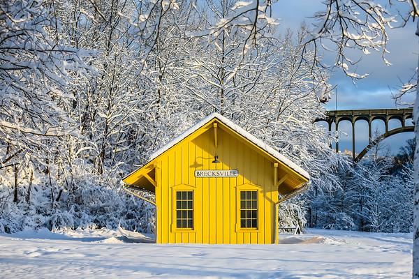 December Post Snow Storm Brecksville