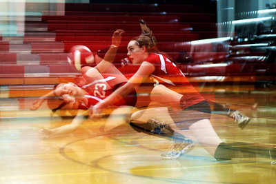Kaitlyn Volleyball by Rachel Guarisco
