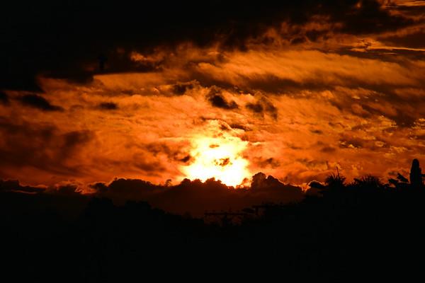 Hawkes Bay Sunset (January 2018)