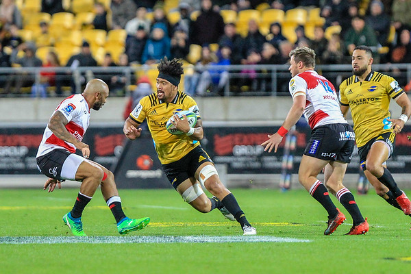 Hurricanes v Lions - Round 13 Super Rugby - 5 May 2018