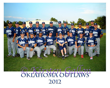 Oklahoma Outlaws 2012 Team Photos