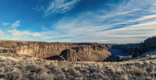 Owyhee Canyonlands Wilderness area....The Tules. South Fork of the Owyhee River.  Dec 2020.