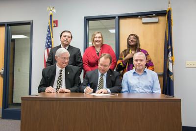 TRIO Proclamation Signing
