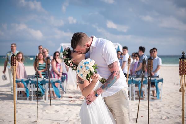 Amanda + Ryan  - Wedding - Sandos Playacar