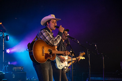 Bryce Allen at the Cloverdale Rodeo