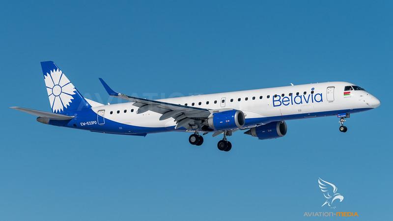 Belavia / Embraer ERJ-195LR / EW-533PO