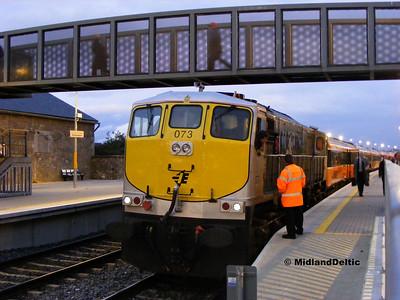 Dublin / Portarlington (Rail), 17-10-2008