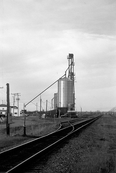 Grain elevator in Sainte Polycarpe.