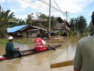 Ops Banjir (Johor floods relief work, Malaysia)
