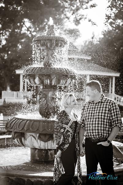 John + Angela | Old Poway Park Engagement | San Diego Wedding Photographer