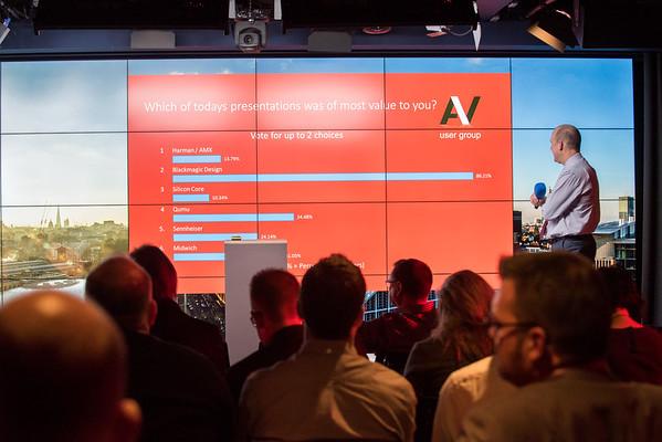 AV Users @ Google, Kings Cross. Networking 24 Nov 2016