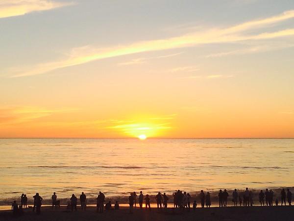 Carmel Sunset, Oct 4,2014