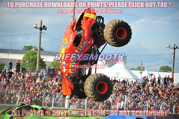 Monster Truck Throwdown - St. Joseph County 4H Fair