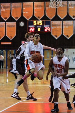 Boys Basketball JV Mount Vernon 1/22/13