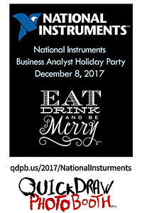 National Instruments Business Analyst Holiday Party