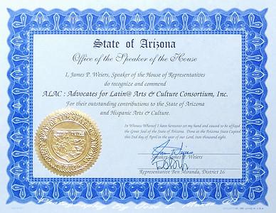 2008-04-02  Presentation at the Arizona State House