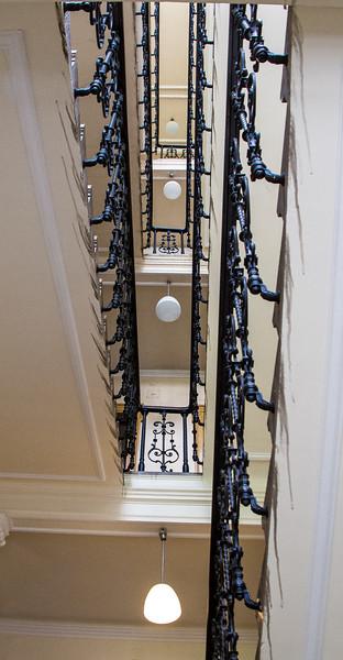 Stairwell, Sigmund Freud Museum