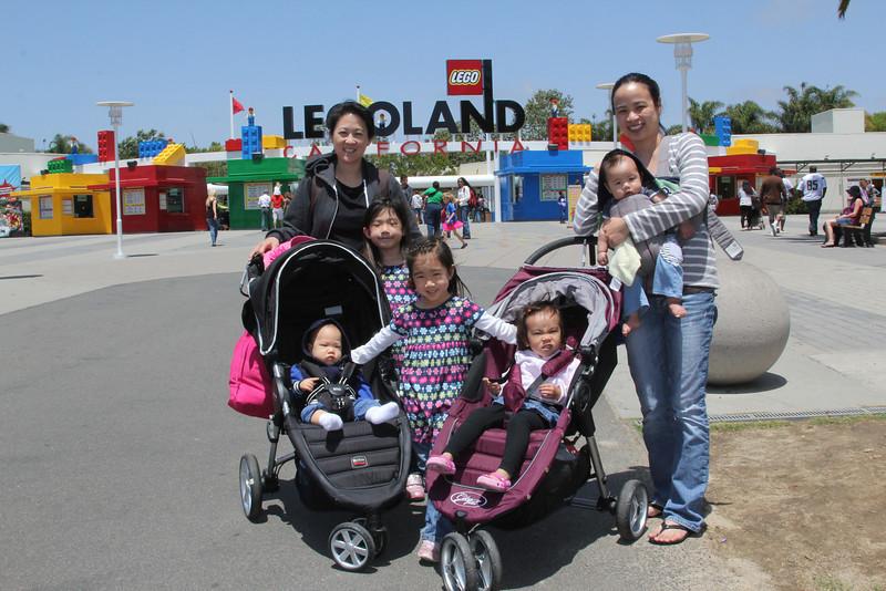 EJ & Alice, Legoland 2014