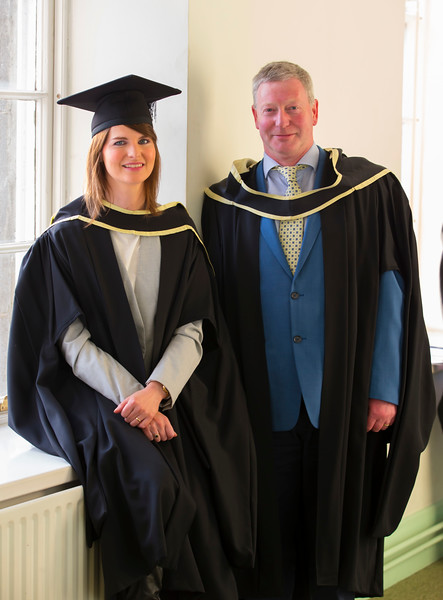 01/11/2017. Waterford Institute of Technology Conferring are Maire Carey and Ronnie Corbett. Picture: Patrick Browne