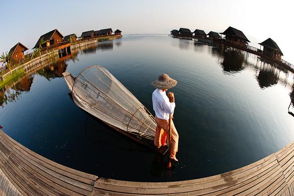 Inle Fishermen
