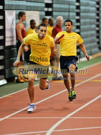 Boy's 4 x 200 Relay - 2012 MITS Finals