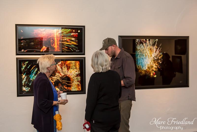Alex Engel's Art Reception