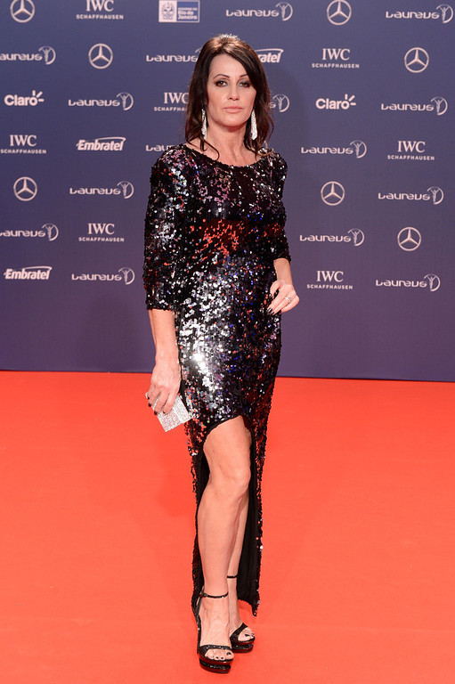 . Laureus Academy Member Nadia Comaneci attends the 2013 Laureus World Sports Awards at the Theatro Municipal Do Rio de Janeiro on March 11, 2013 in Rio de Janeiro, Brazil.  (Photo by Buda Mendes/Getty Images For Laureus)