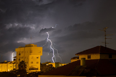 Lightning - Nahariya 22-11-2012