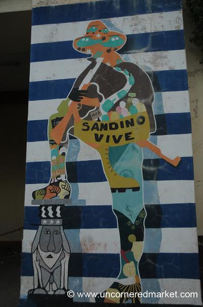 Leon, Nicaragua: Sandanista Mural