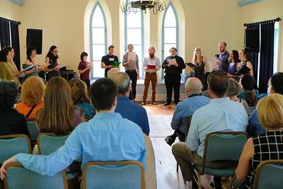 2019 Georgian Choir at Bard Hall