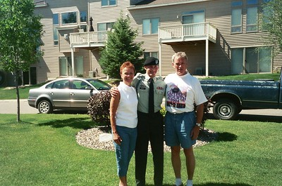 2004 - Summer - Gathering to bid farewell to Matt