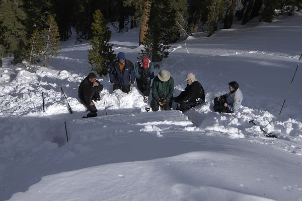 Avalanche Course, Level 1 February 2006