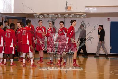 Varsity Boys Basketball 15Jan14