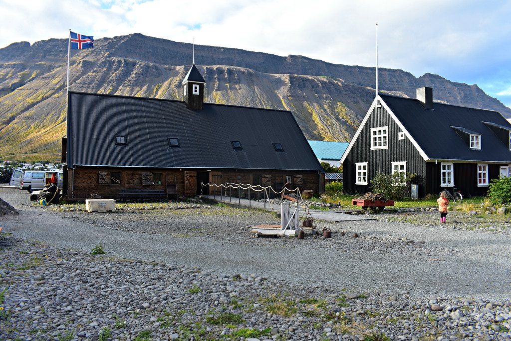 The Westfjords Folk Museum in Isafjörður,West Fjords Iceland