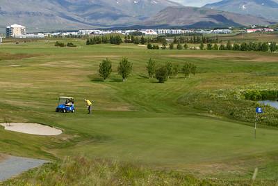 Opna Örninn golf 3. ágúst