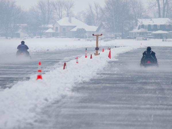 Syracuse Snowmobile Races