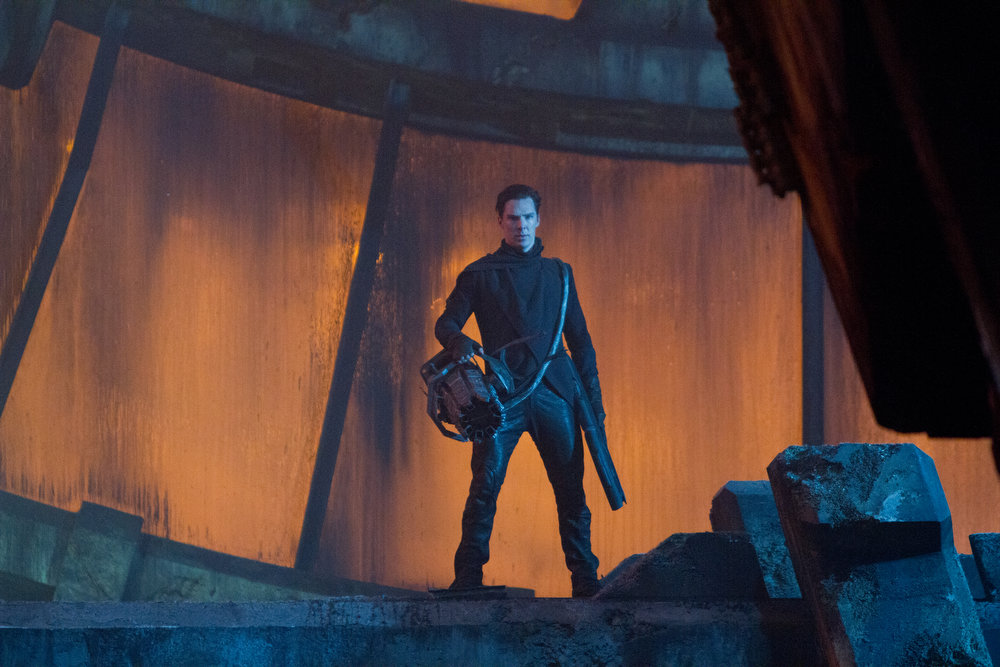 . Benedict Cumberbatch is John Harrison in STAR TREK INTO DARKNESS, from Paramount Pictures and Skydance Productions.   (Photo by Zade Rosenthal)