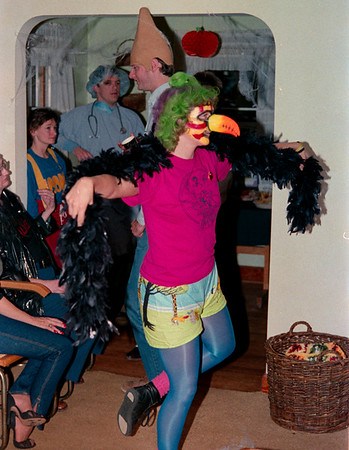 Halloween 1987 at Lisa and Tom