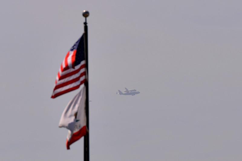 Shuttle Flyover