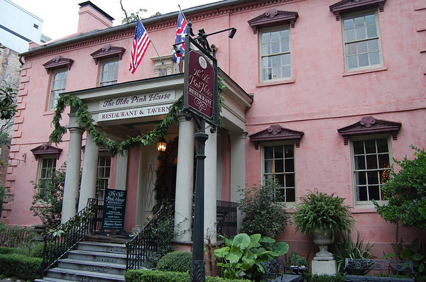 Journal Site 170: The Olde Pink House, Savannah, GA - Dec. 10, 2010