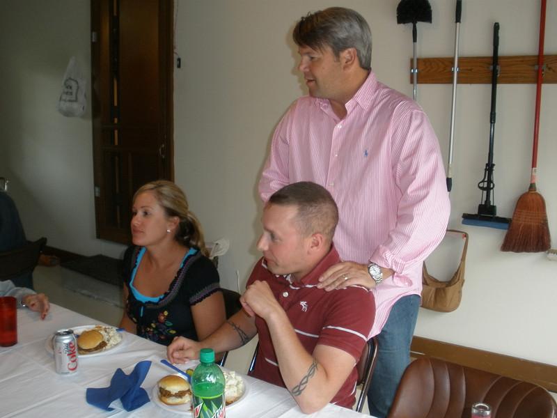 Doug with Jodee and Matt