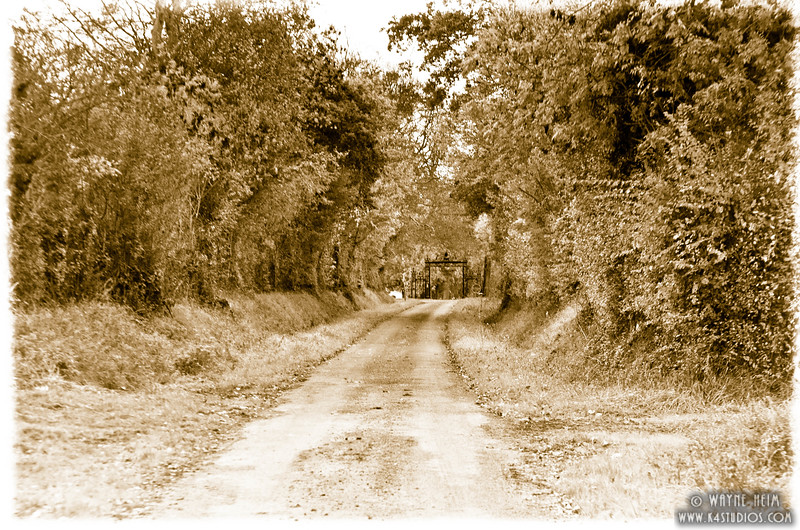 Long Road in Normandy 4  Photography by Wayne Heim