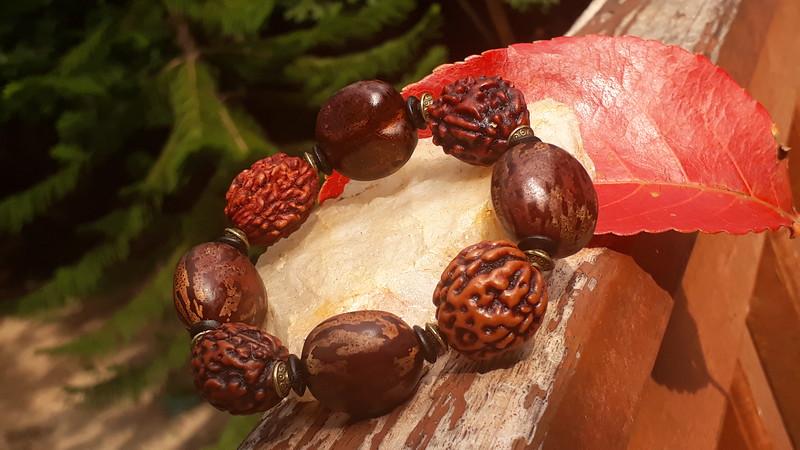1 of Dec! Bracelet with tigereye seeds 4 Ina birthday