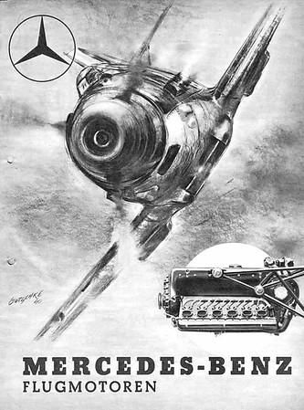 Mercedes Benz Flug motoren by Walter Gotschke.