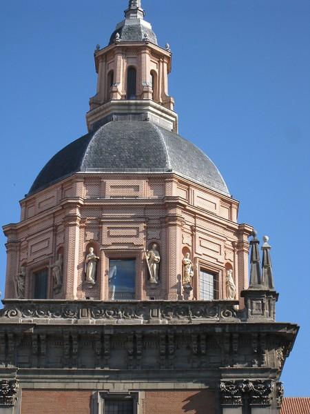 Madrid building top