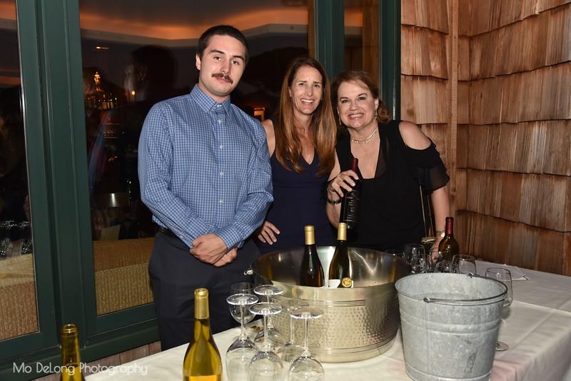Jack Keating, Belinda Wood and Kelly Tyler